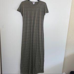 LULAROE CREW NECK  MAXI DRESS